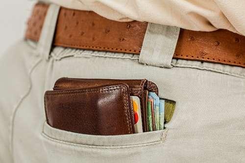 Wallet Cash Credit Card Pocket Money Purse