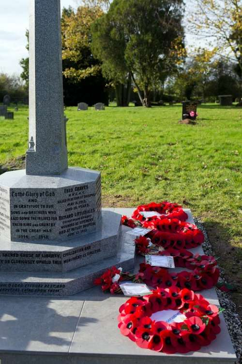 War Memorial Military Remembrance Sunday