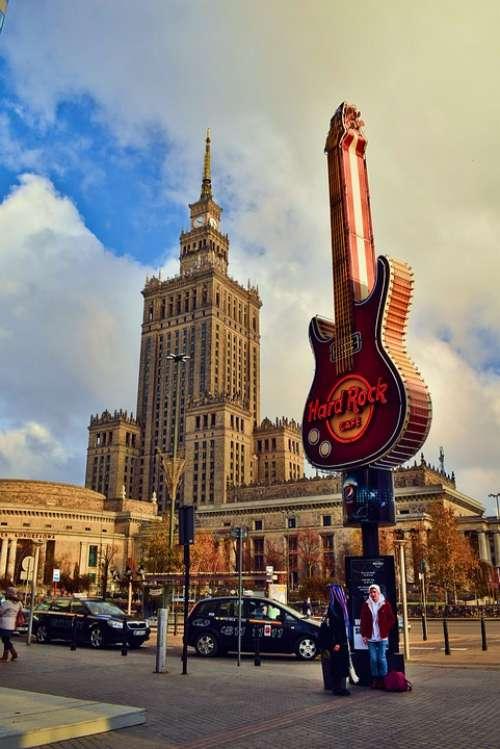 Warsaw Poland Architecture City Tourism Socialism