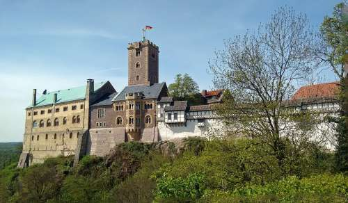 Wartburg Castle Eisenach Luther Thuringia Germany
