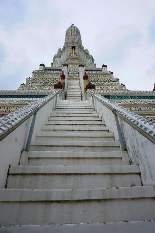 Wat Arun Wat Temple Bangkok Thailand Buddhism