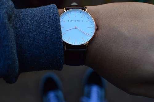 Watch Wristwatch Time Timing Timepiece Timer