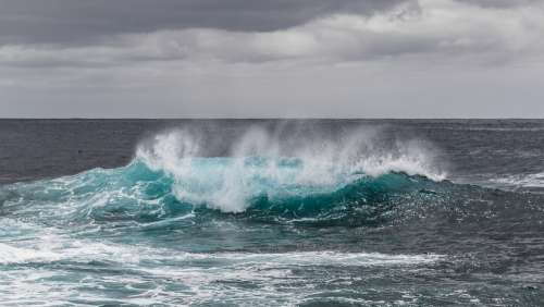 Water Sea Atlantic Ocean Wave Spray Pacific