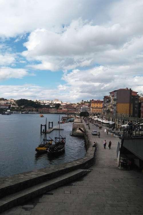 Water Porto Portugal Boat