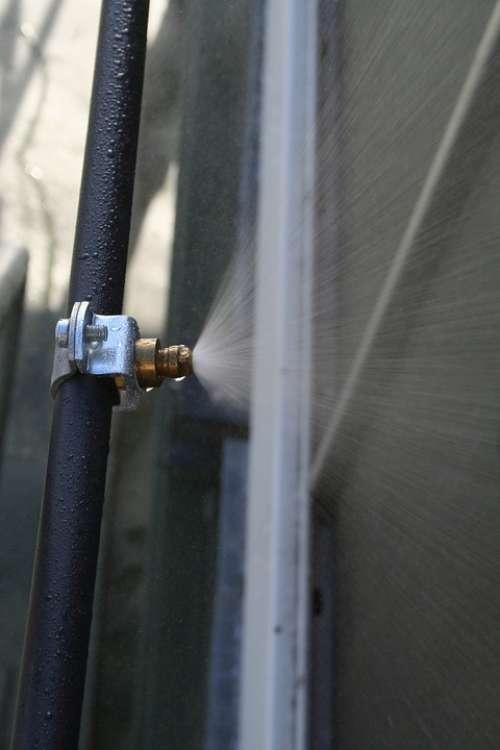 Water Condenser Tube Spray Mist Nozzle Metal