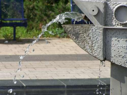 Water Gargoyle Drip Fountain Figure Water Jet