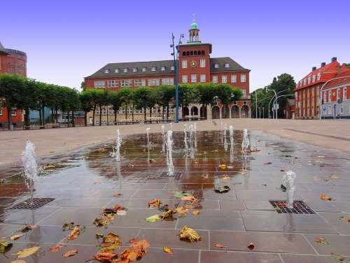 Water Games Fountain Bocholt Benoelkenplatz George