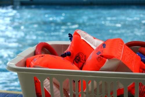 Water Wings Swimming Pool Swim Water Child Leisure