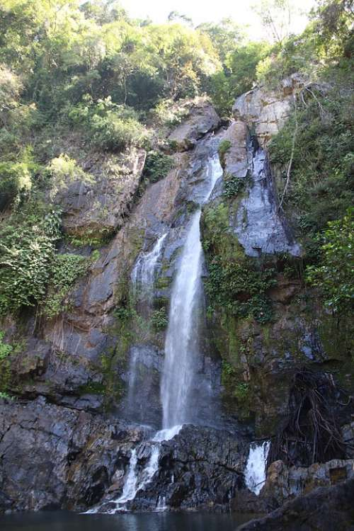 Waterfall National Park Thailand Nature Landscape