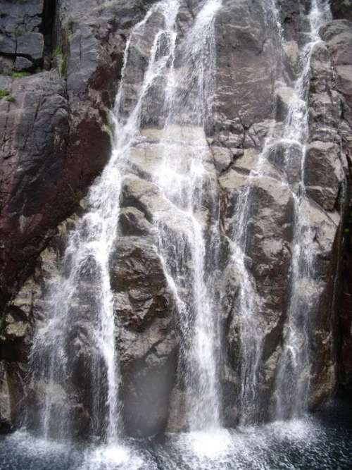 Waterfall Fjords Norway