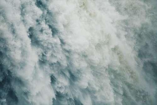 Waterfalls Water Gushing Falling Streaming Rivers