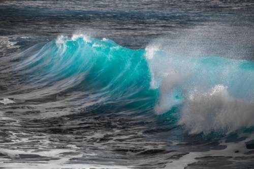 Wave Water Spray Sea Splash Liquid Nature Wind