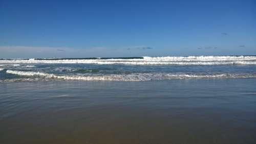 Waves Beach Sea