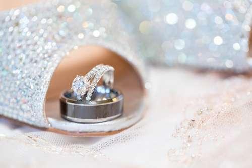 Wedding Ring Jewelry Bride Marriage Celebration