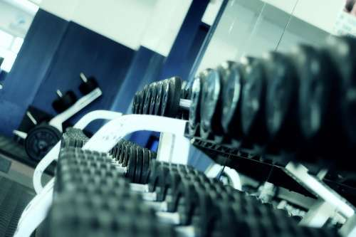 Weight Lifting Fitness Gym Perspective Body Health
