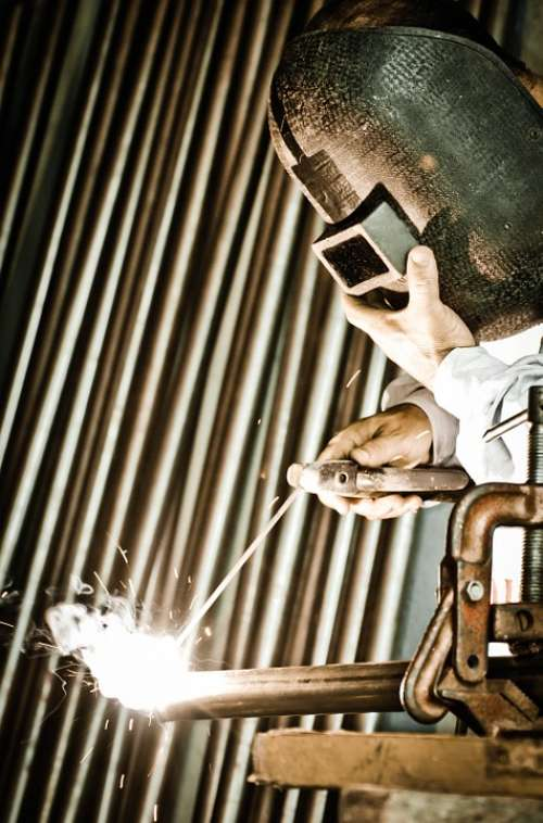 Welding Profession Weld Fire Heat Repair