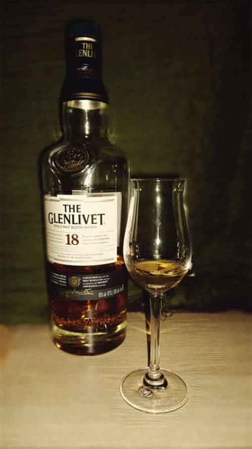 Whisky Alcohol Bottle