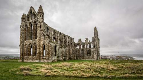 Whitby Abbey Dracula Bram Stoker Haunted Ruin