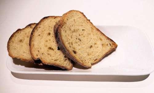 Whole Grain Bread Sliced Texture Oats Corn Wheat