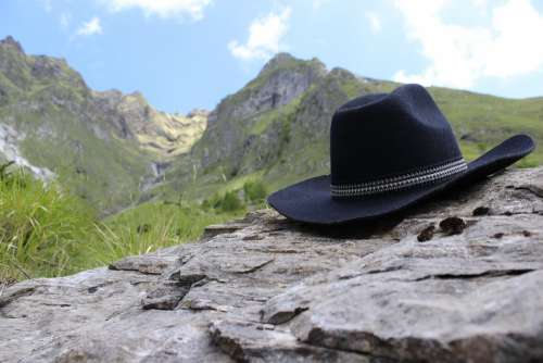 Wild West Hat Mountains West Country Nature