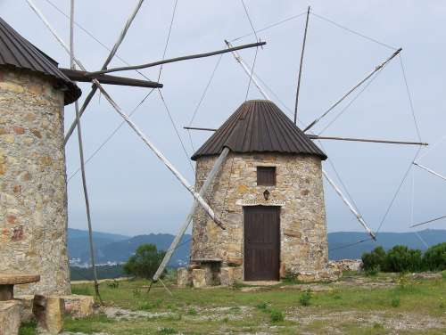 Windmill Portugal Wings Energy