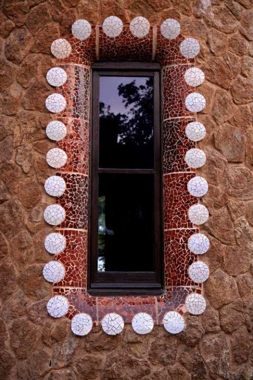 Window Architecture Design Gaudi Barcelona