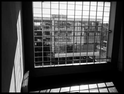 Window Room Bauhaus Dessau Germany Architecture