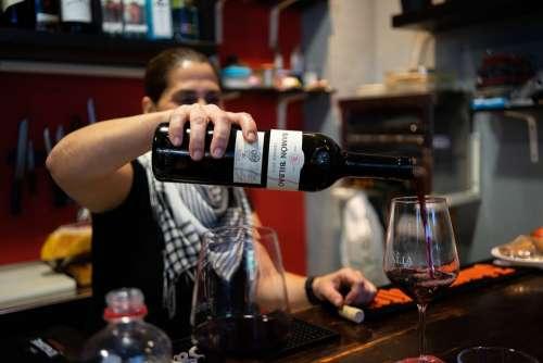 Wine Bodega Vino Bottle Food Give A Glass Drink