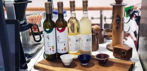 Wine Korea Traditional Distilled Liquor Hard Liquor