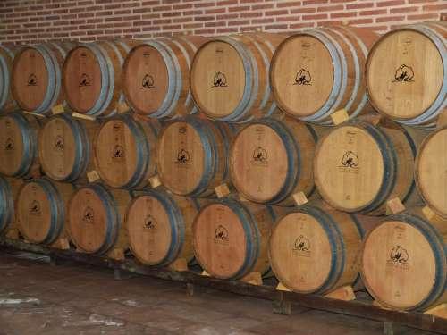 Wine Cellar Wine Barrels Wine Storage Barrel