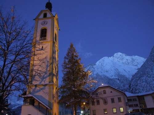 Winter Tyrol Zams Christmas Snow Morgendstund