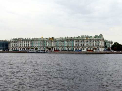 Winter Palace St Petersburg Russia Historically