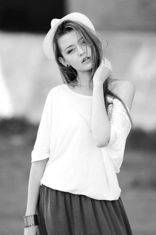 Woman Young Beautiful Beauty Human Girl Fashion
