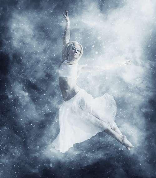 Woman Dancer Dance Ballet Ballerina Girl People