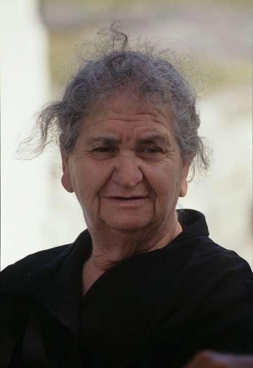 Woman Old Greece Person Greek