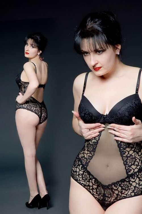 Women Tempting Fashion Model Body