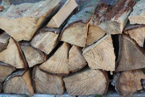 Wood Log Heating Logs