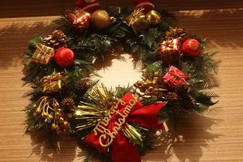 Wreath Christmas Dark