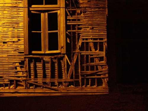 Wreck Abandoned Rusty Cracked Vintage Damaged