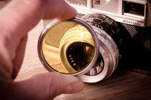 Yashica Filter Camera Vintage Photography Classic