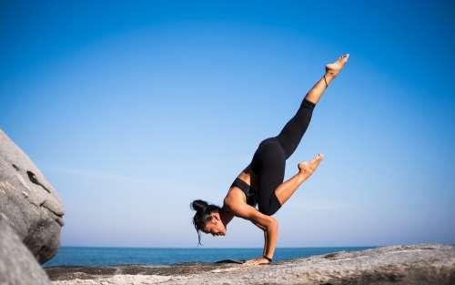 Yoga Strength People Woman Meditation Fitness