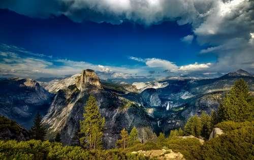 Yosemite National Park Landscape California