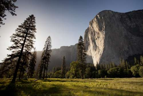 Yosemite El Capitan Mountains National Park Wall