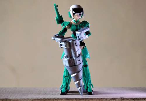 Young Lady Female Frame Arms Girls Japanese