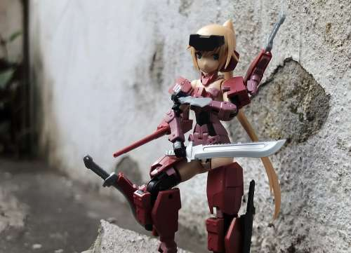 Young Lady Female Toy Figurine Action Kotobukiya
