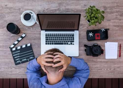 Youtuber Blogger Screenwriter Desperate Uninspired
