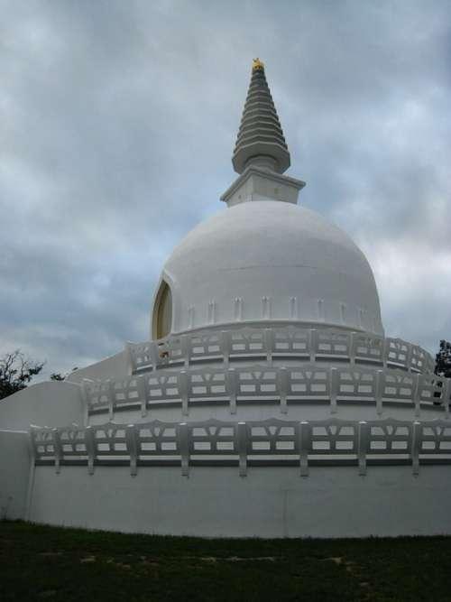 Zalaszántó Stupa Buddhist Stupa Peace