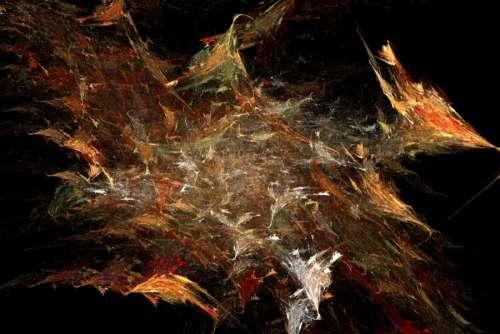 fractal leaf litter