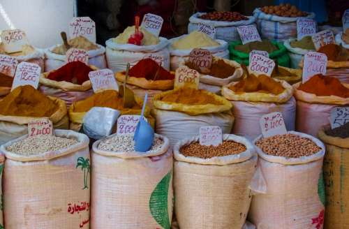 Spices from North Africa