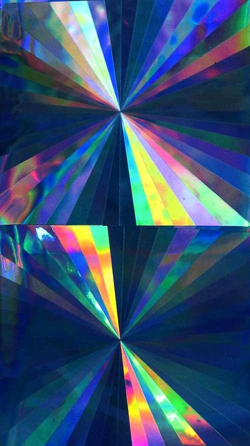 multicolored foil 2